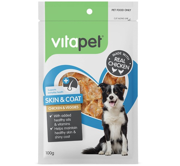 Skin and Coat Care Dog Treats