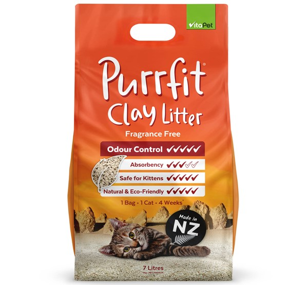 Cat Litter - Purrfit Clay