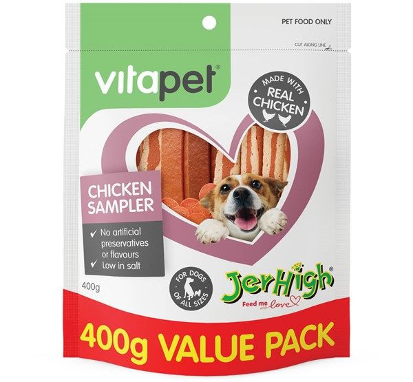 VitaPet Chicken Sampler