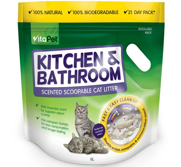 Cat Litter - Kitchen