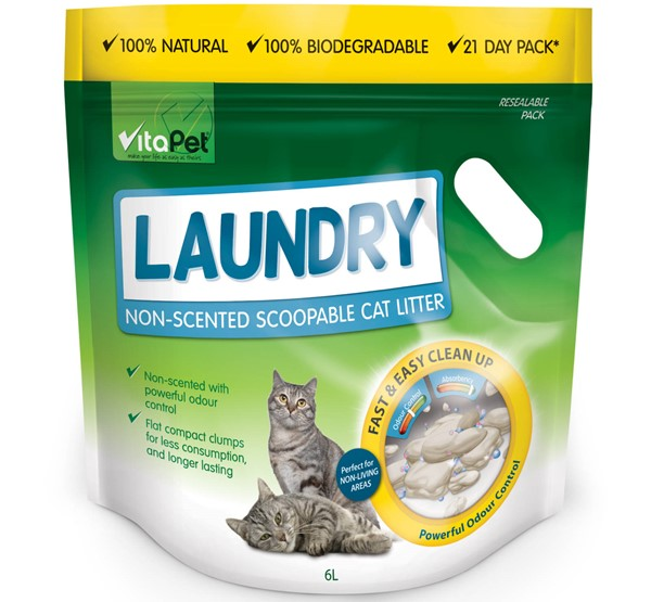Cat Litter Laundry