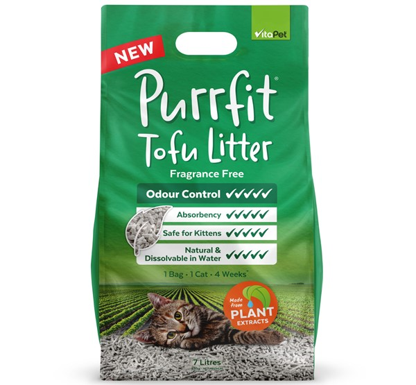 Cat Litter - Purrfit Tofu