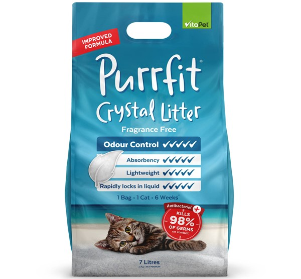 Cat Litter - Purrfit Crystal