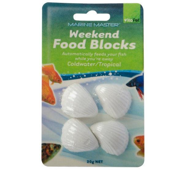Weekend Fish Food Blocks