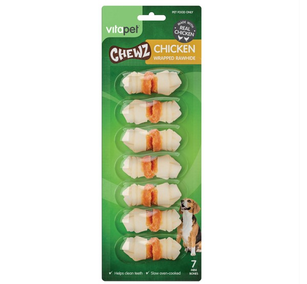 Chicken Wrapped Minibone Chewz