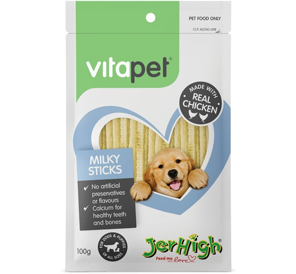 VitaPet Milky Sticks
