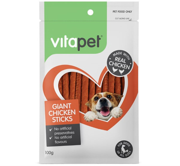 VitaPet Giant Chicken Sticks