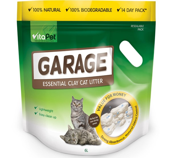 Cat Litter - Garage