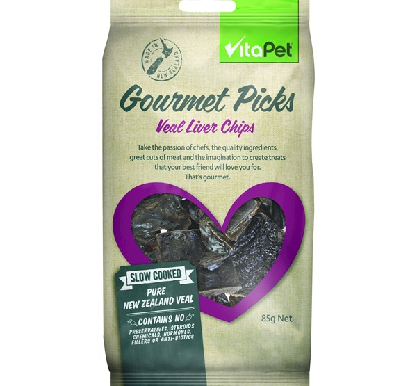 Gourmet Picks Veal Liver Chips
