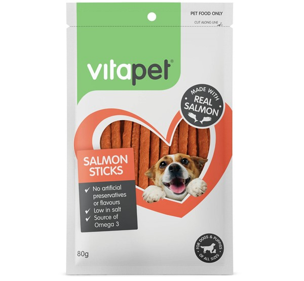VitaPet Salmon Sticks