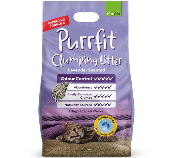 Cat Litter - Purrfit Clumping